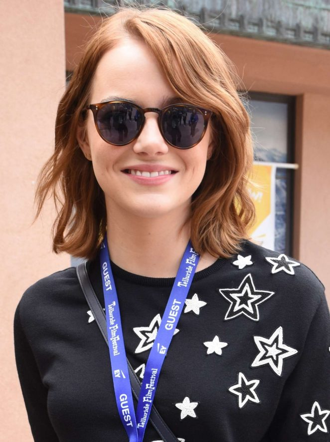 Emma Stone: Telluride Film Festival 2016 -04
