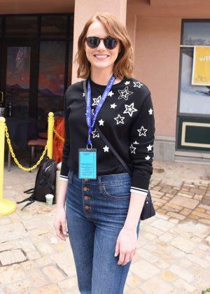 Emma Stone - Telluride Film Festival 2016 in Telluride