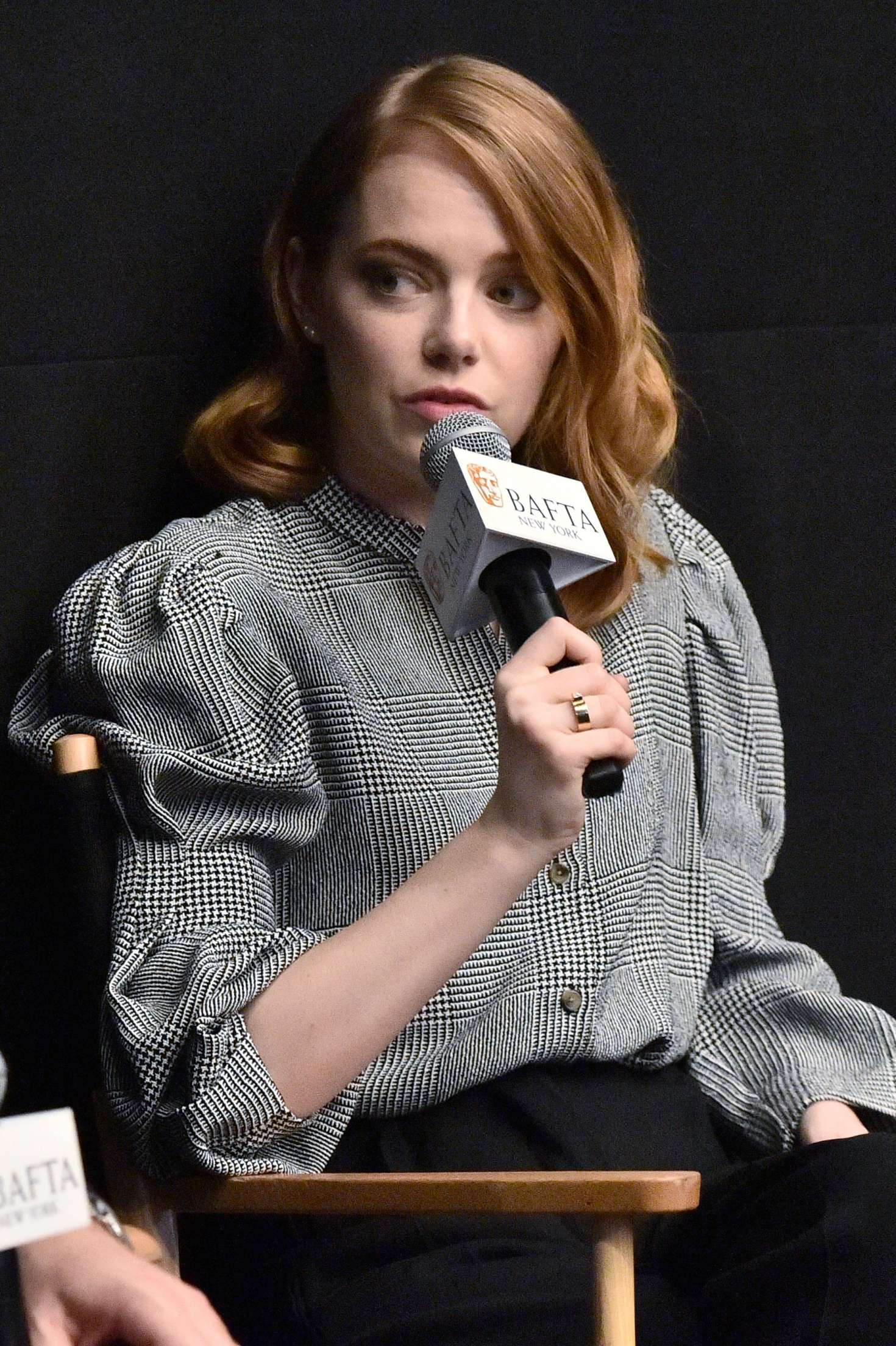 Emma Stone - 'The Favourite' BAFTA Screening in NYC