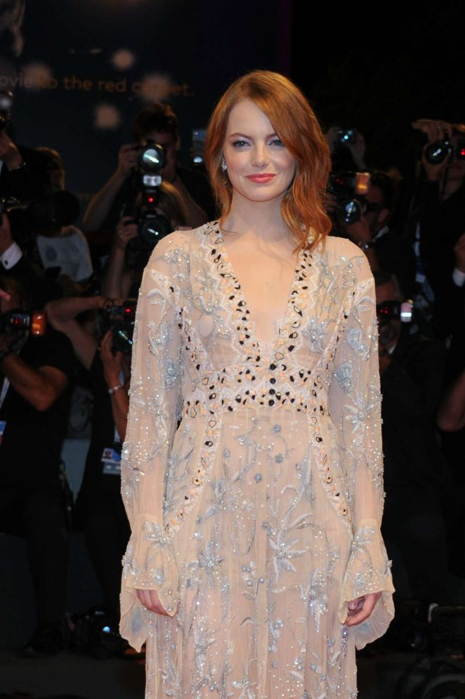 Emma Stone – 'The Favourite' Premiere at 2018 Venice International Film Festival in Venice