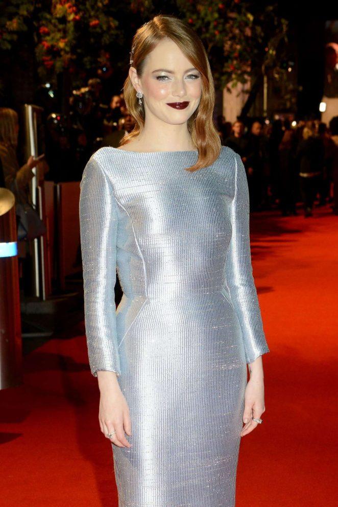 Emma Stone - 'The Favourite' Premiere in London