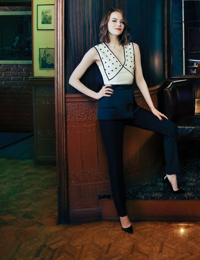 Emma Stone - The Hollywood Reporter (March 2015)