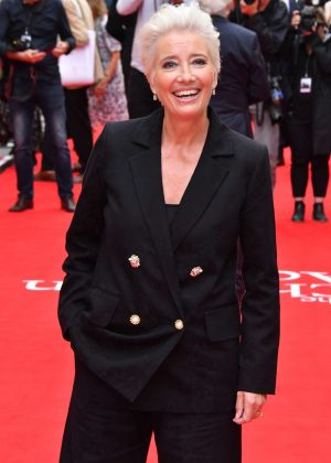Emma Thompson - 'The Children Act' Premiere in London