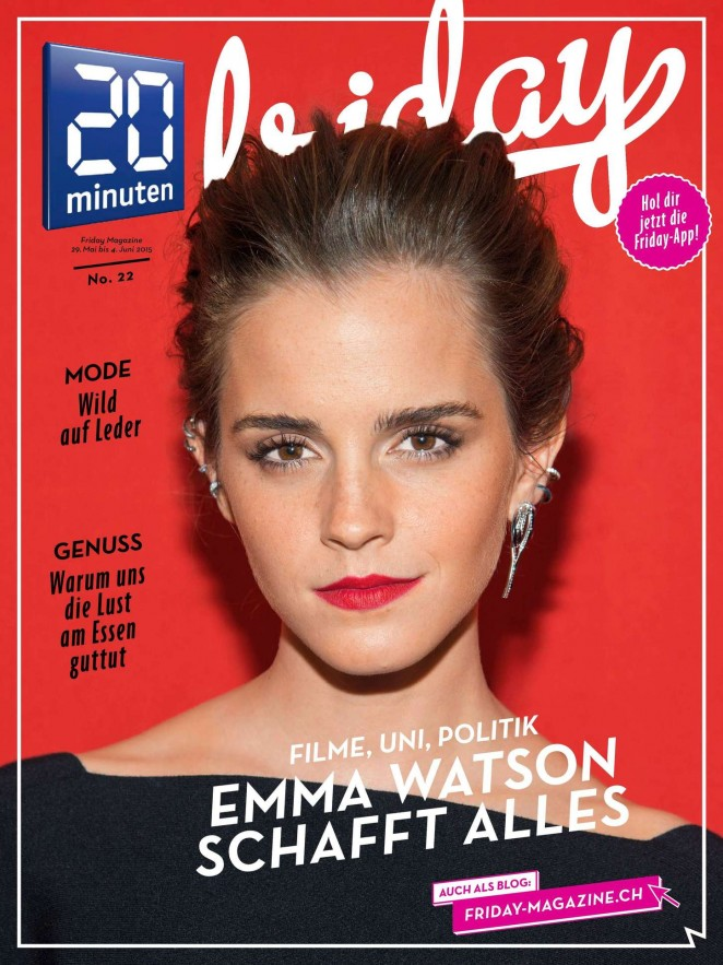 Emma Watson - 20 Minuten Magazine (May/June 2015)