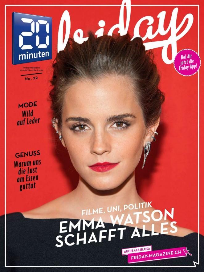 Emma Watson - 20 Minuten Magazine (May/June 2015)