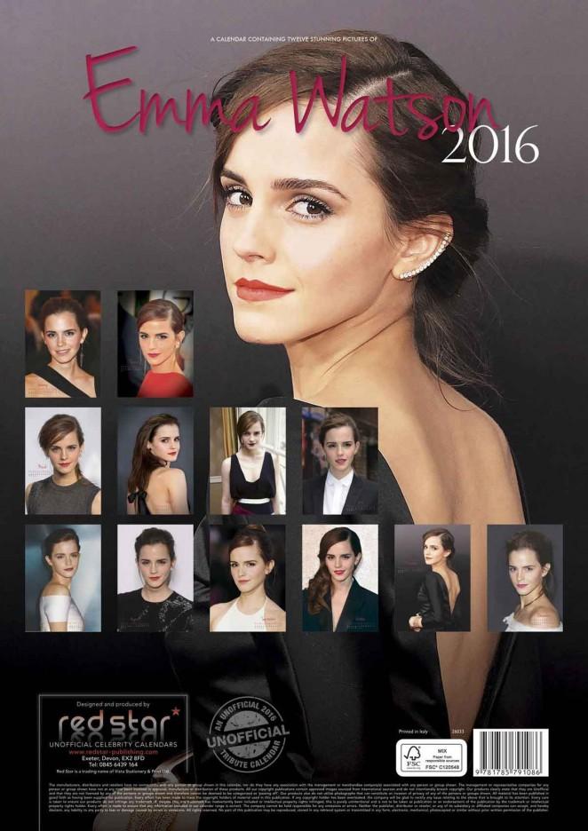 Emma Watson - 2016 Calendar