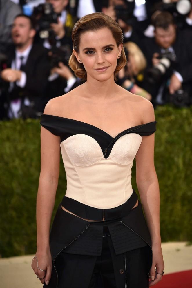 Emma Watson - 2016 Met Gala in NYC