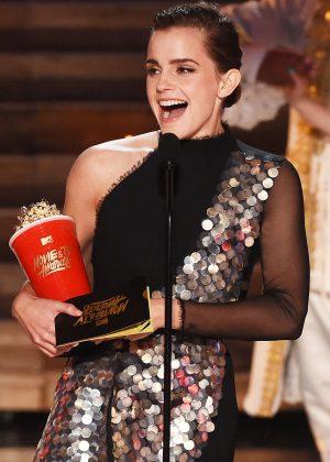 Emma Watson - 2017 MTV Movie And TV Awards in Los Angeles