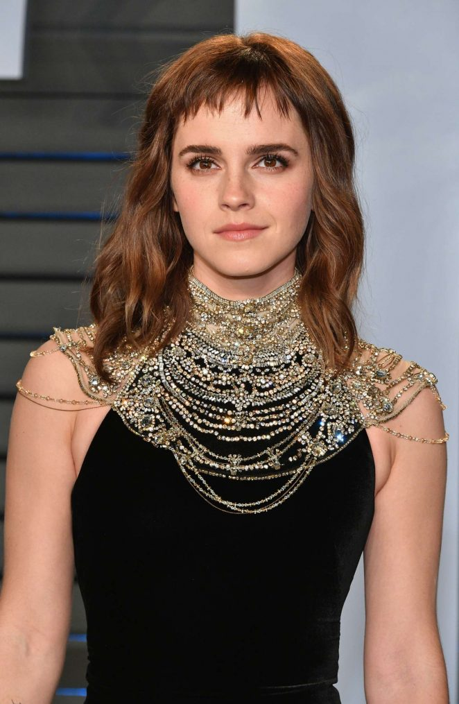 Emma Watson - 2018 Vanity Fair Oscar Party in Hollywood
