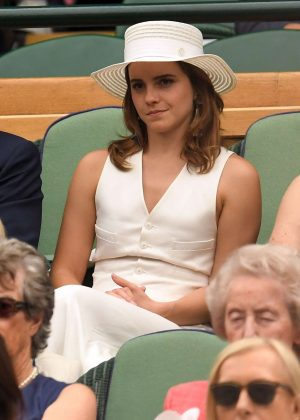 Emma Watson - 2018 Wimbledon Tennis Championships in London