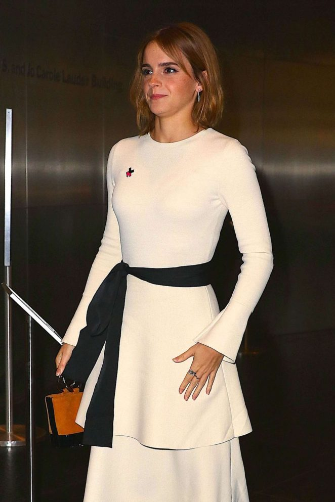 Emma Watson – Arrives at Heforshe 2nd Anniversary Reception in New York
