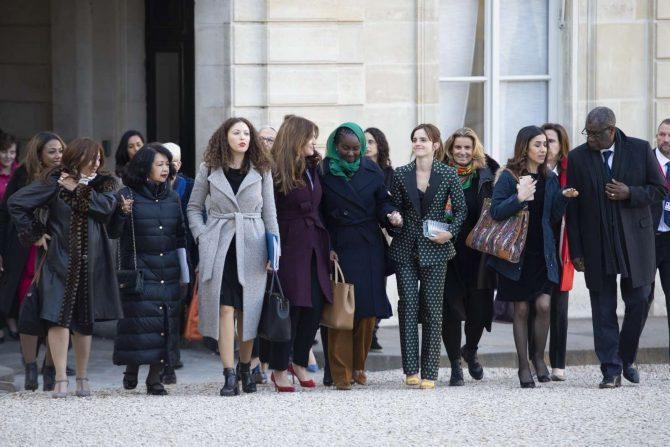 Emma Watson 2019 : Emma Watson: Arrives at the First Meeting of the G7 Gender Equality Advisory Council -01