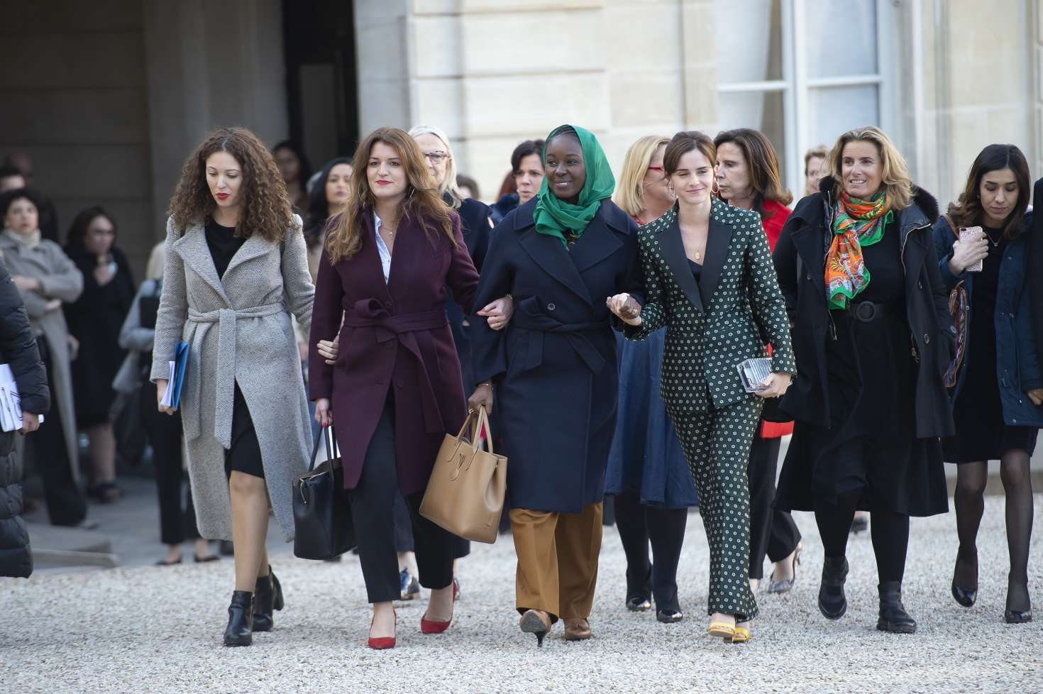 Emma Watson 2019 : Emma Watson: Arrives at the First Meeting of the G7 Gender Equality Advisory Council -03