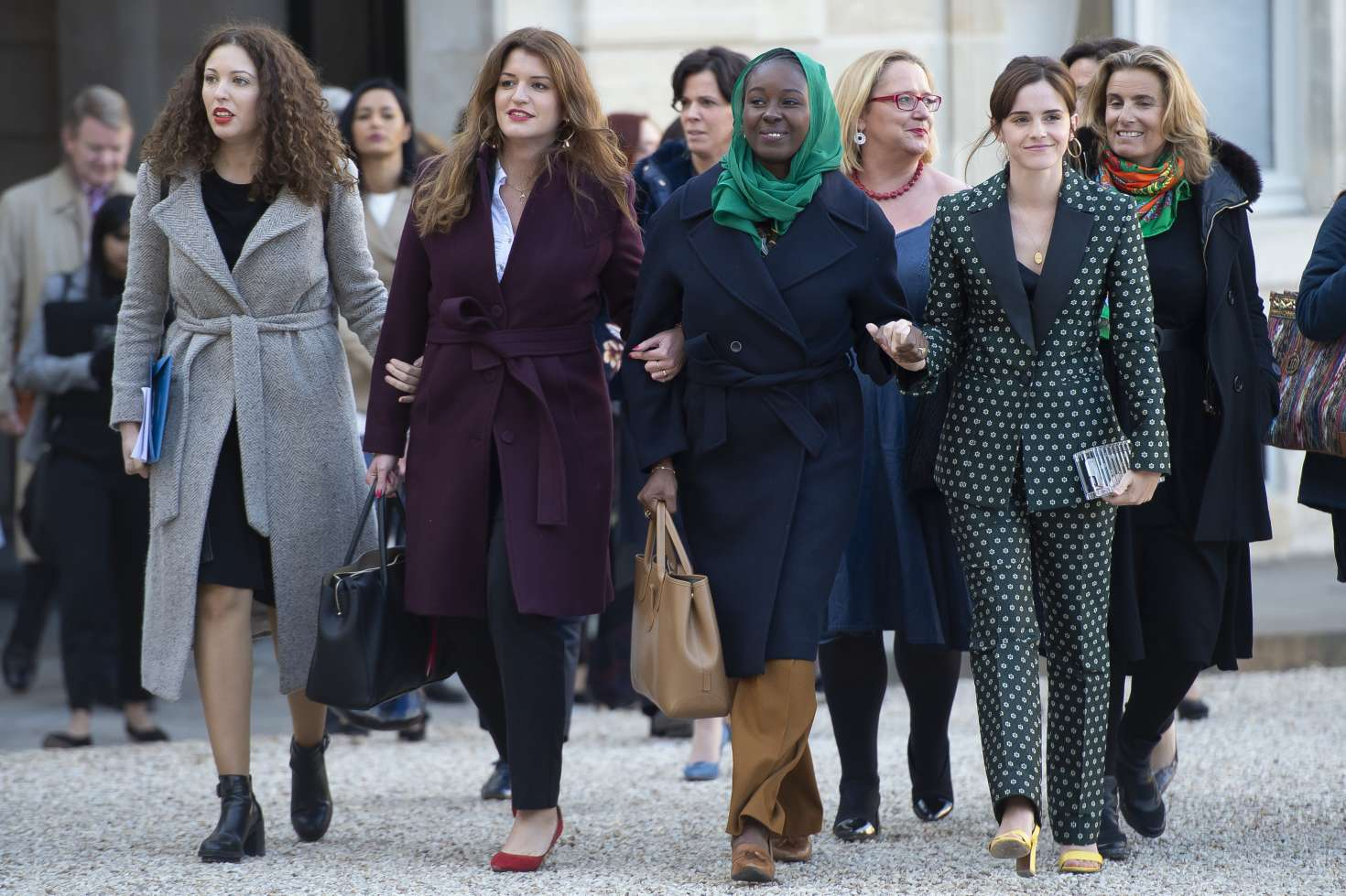 Emma Watson 2019 : Emma Watson: Arrives at the First Meeting of the G7 Gender Equality Advisory Council -04