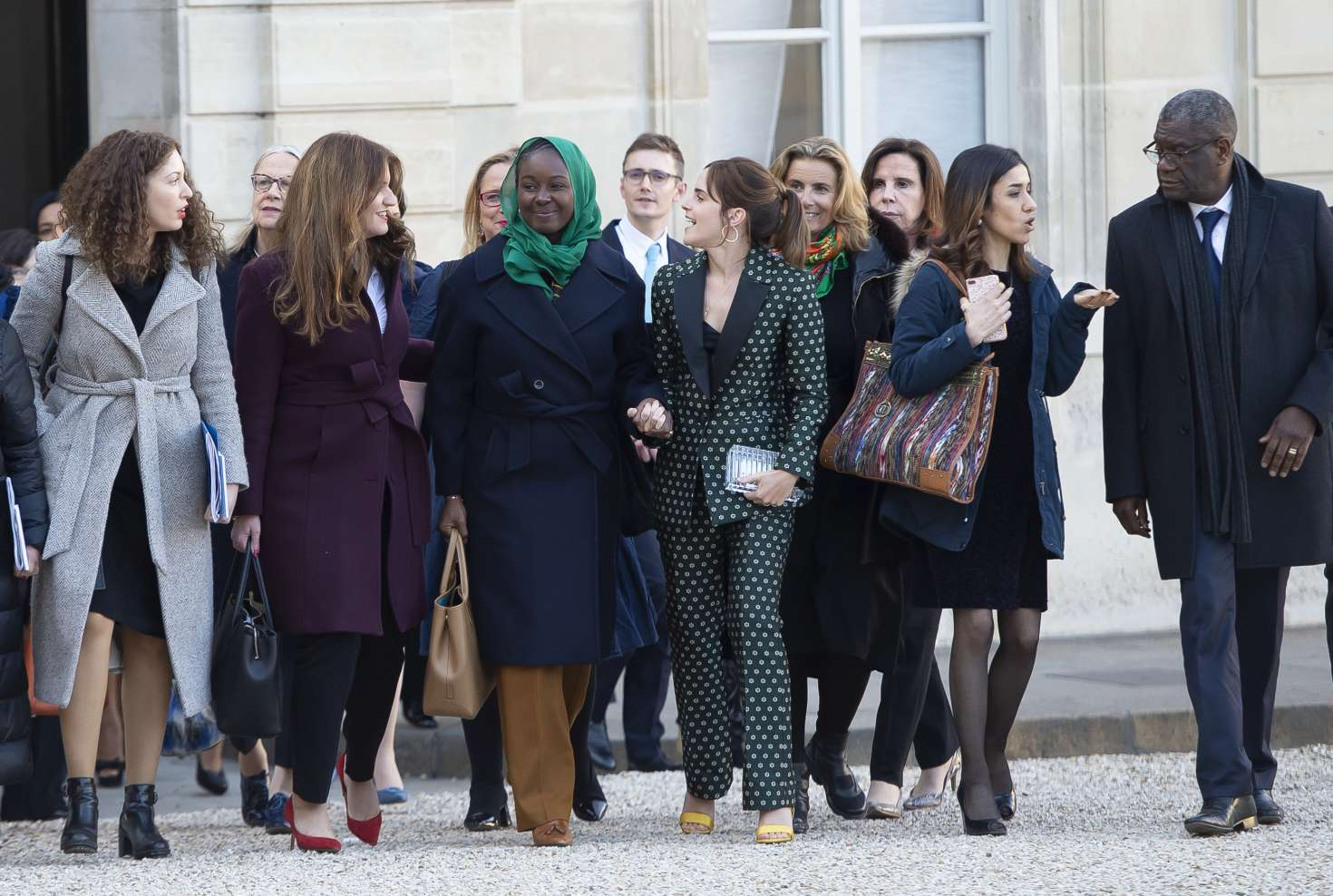 Emma Watson 2019 : Emma Watson: Arrives at the First Meeting of the G7 Gender Equality Advisory Council -08