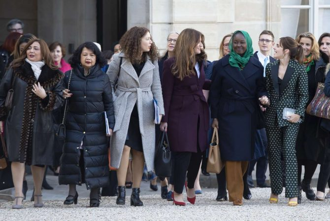 Emma Watson 2019 : Emma Watson: Arrives at the First Meeting of the G7 Gender Equality Advisory Council -10