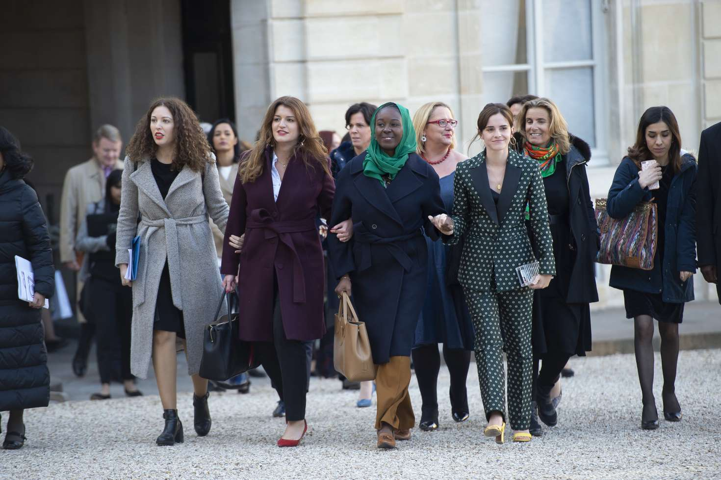 Emma Watson 2019 : Emma Watson: Arrives at the First Meeting of the G7 Gender Equality Advisory Council -14