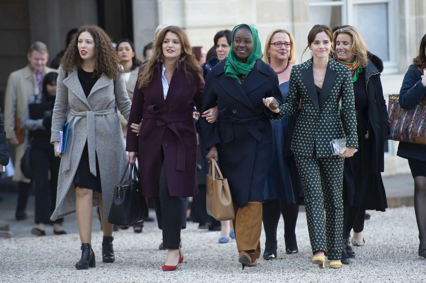 Emma Watson 2019 : Emma Watson: Arrives at the First Meeting of the G7 Gender Equality Advisory Council -15