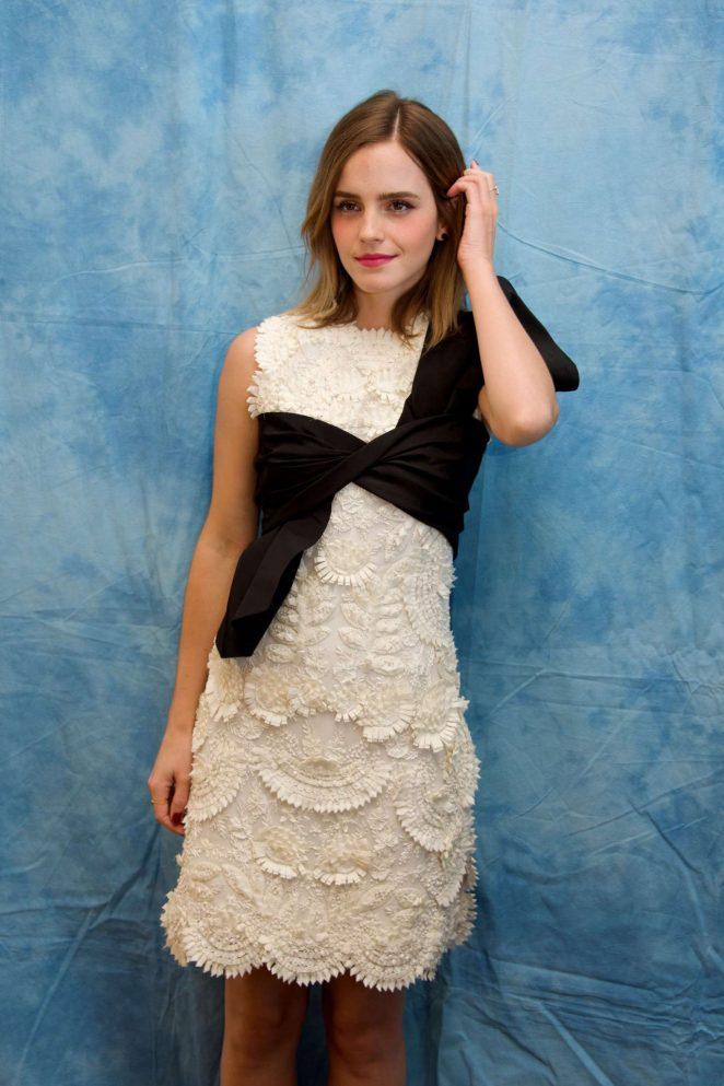 Emma Watson at 'Beauty and the Beast' Press Conference in Beverly Hills