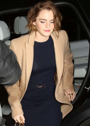 Emma Watson at 'The True Cost' Screenig in London