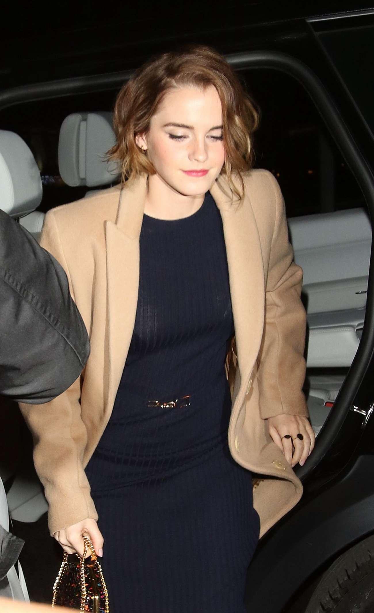 Emma Watson at 'The True Cost' Screenig in London