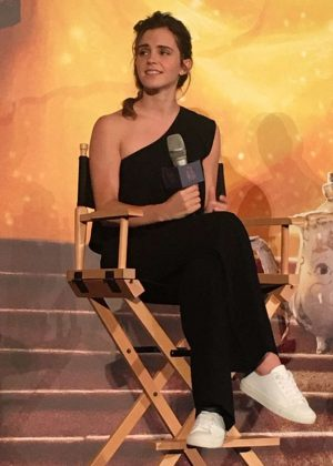 Emma Watson - 'Beauty And The Beast' Press Conference in Shanghai