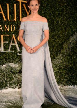 Emma Watson Beauty And The Beast UK Screening