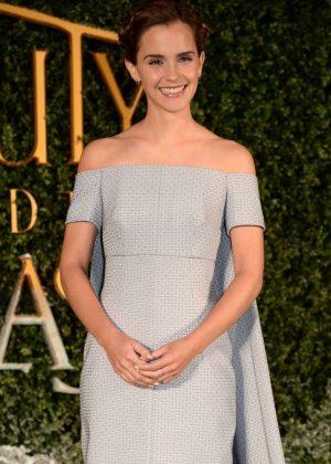 Emma Watson - 'Beauty and the Beast' Screening in London
