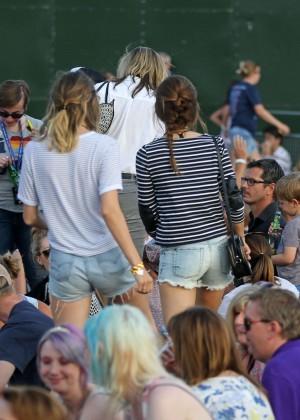 Emma Watson in Jeans Shorts -04