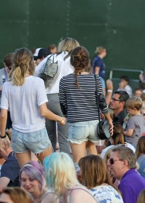 Emma Watson in Jeans Shorts -21