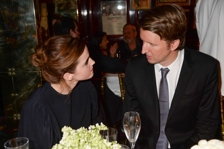 Emma Watson 2015 : LEmma Watson: Charles Finch and CHANEL Pre-BAFTA Party -01