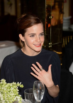 Emma Watson - Charles Finch & CHANEL Pre-BAFTA party in London