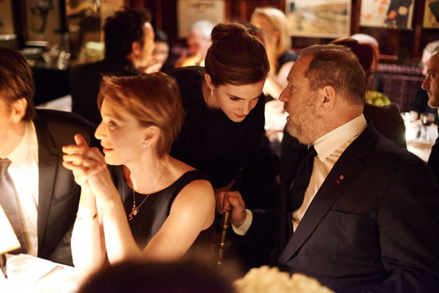 Emma Watson 2015 : LEmma Watson: Charles Finch and CHANEL Pre-BAFTA Party -03