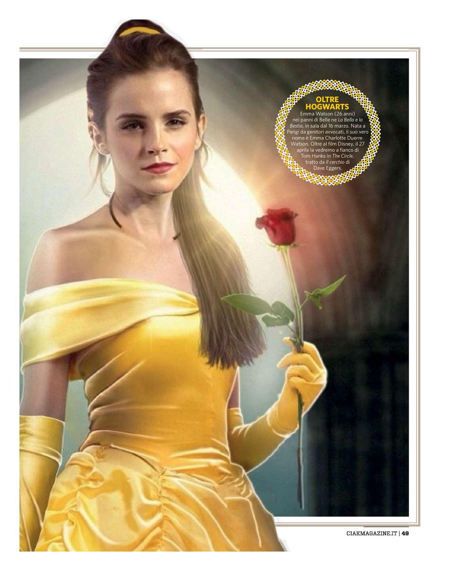 Emma Watson 2017 : Emma Watson: Ciak Magazine 2017 -06