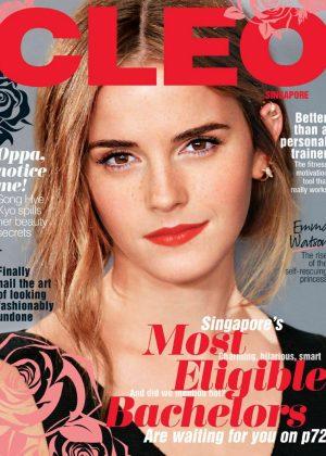 Emma Watson - Cleo Singapore (May 2017)