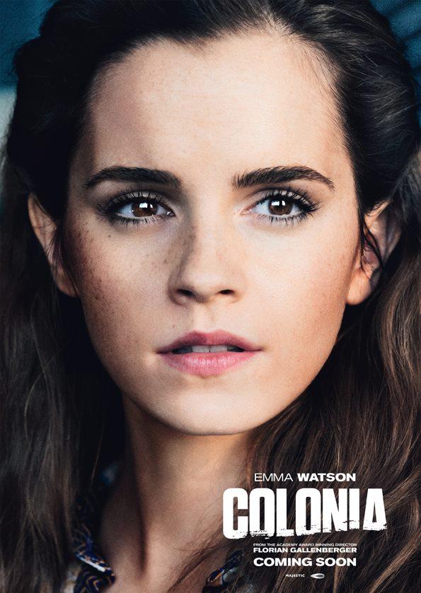 Emma Watson - Colonia Poster and Still