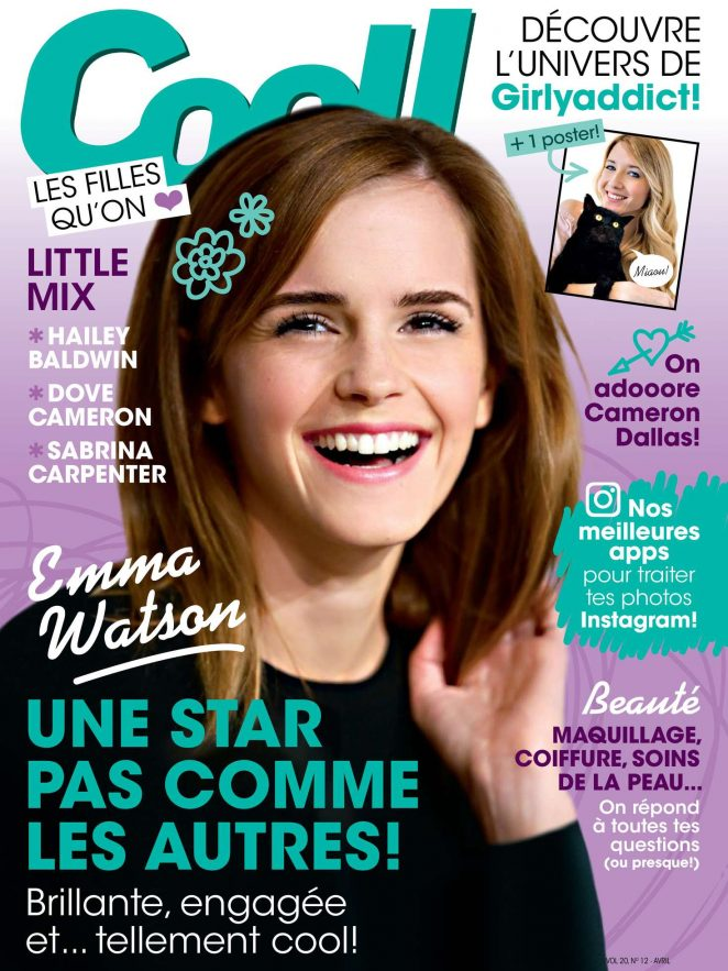 Emma Watson - Cool! France Magazine (April 2017)