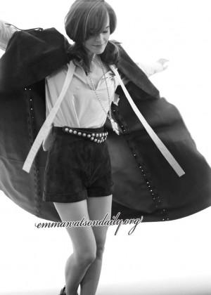 Emma Watson - Elle 2014 Outtakes