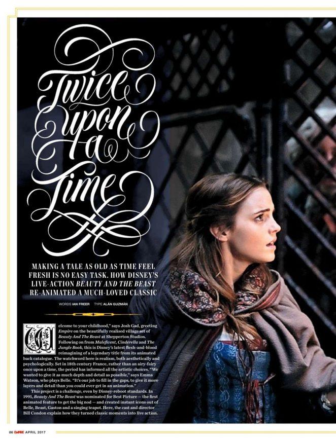 Emma Watson - Empire UK Magazine (April 2017)