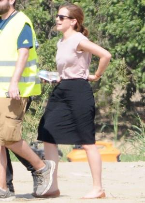 Emma Watson: Filming The Circle -01