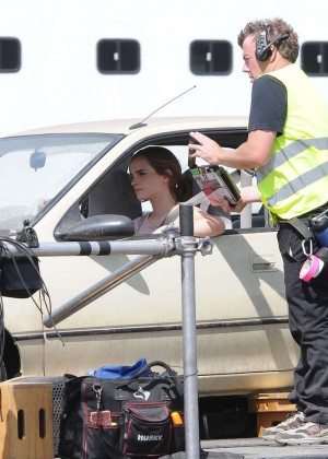 Emma Watson: Filming The Circle -02