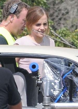 Emma Watson: Filming The Circle -03