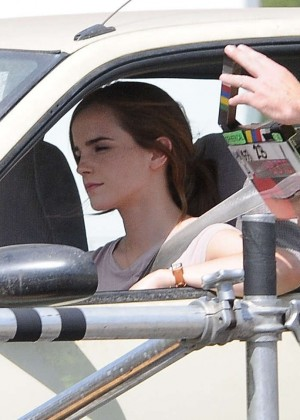 Emma Watson: Filming The Circle -04