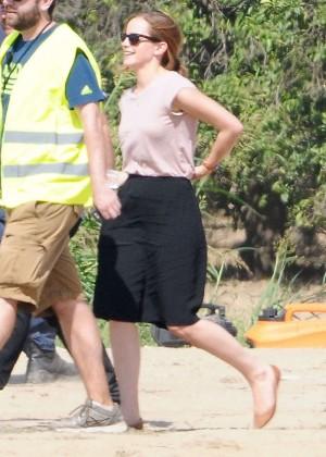 Emma Watson: Filming The Circle -05