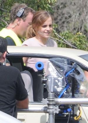 Emma Watson: Filming The Circle -07