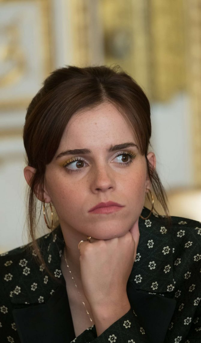 Emma Watson – First Meeting of the G7 Gender Equality Advisory Council in Paris