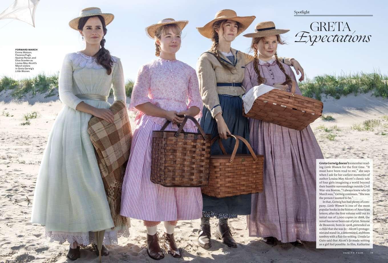 Emma Watson, Florence Pugh, Saoirse Ronan and Eliza Scanlen - Vanity Fair Magazine (August 2019)