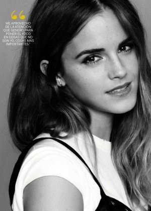 Emma Watson for Fotogramas Magazine (October 2015)