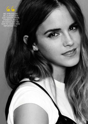 Emma Watson for Fotogramas Magazine (October 2015)