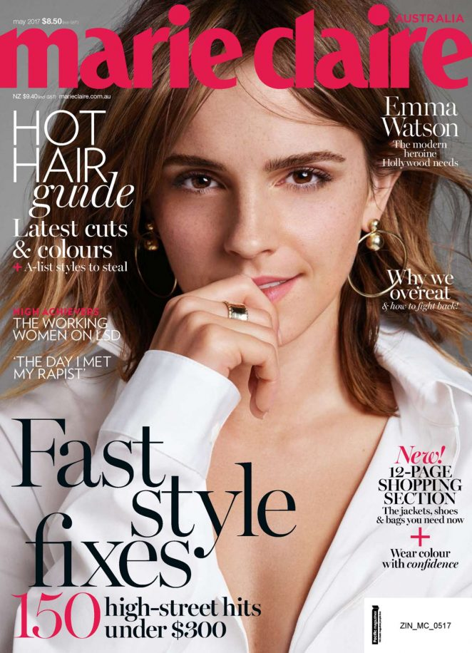 Emma Watson for Marie Claire Australia (May 2017)